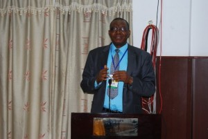 Prof Jonathan Mba (AAU)