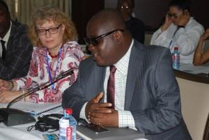 Mr Maxwell Amo-Hoyte, the AAU Finance Director