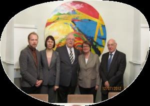 ENQA review panel visiting EKKA in 2012